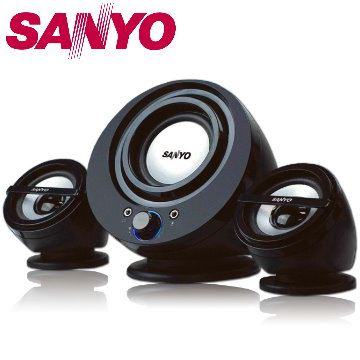 三洋 聲之藝2.1聲道多媒體喇叭 SYSP-832