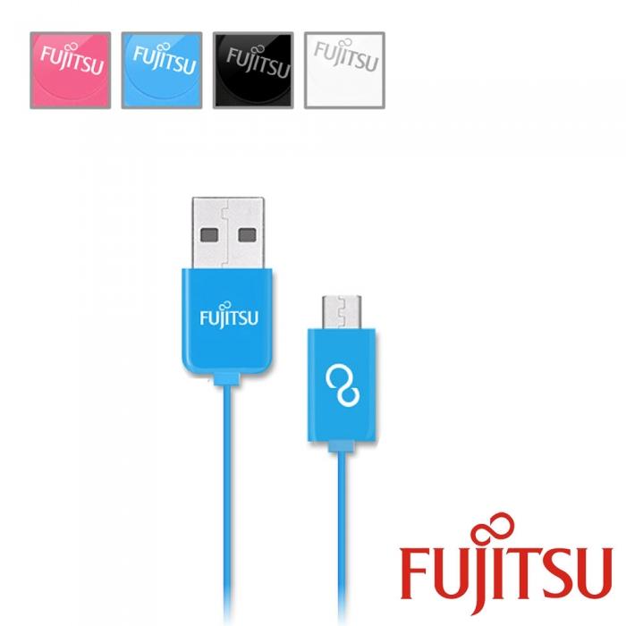 FUJITSU 富士通 UM100 MICRO USB傳輸充電線(直線型)-手機平板配件-myfone購物