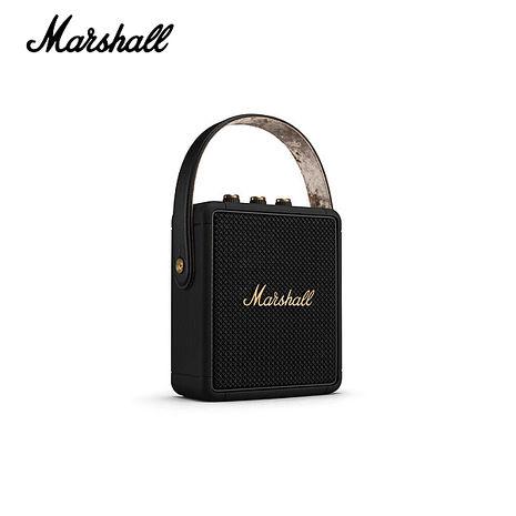 Marshall Stockwell II 攜帶式藍牙喇叭-限量古銅黑