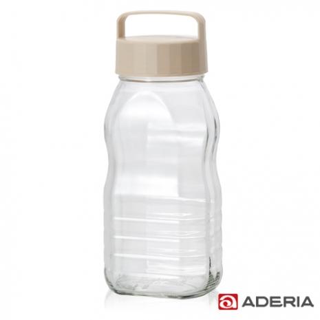 【ADERIA】日本進口玻璃梅酒瓶2000ml(白)