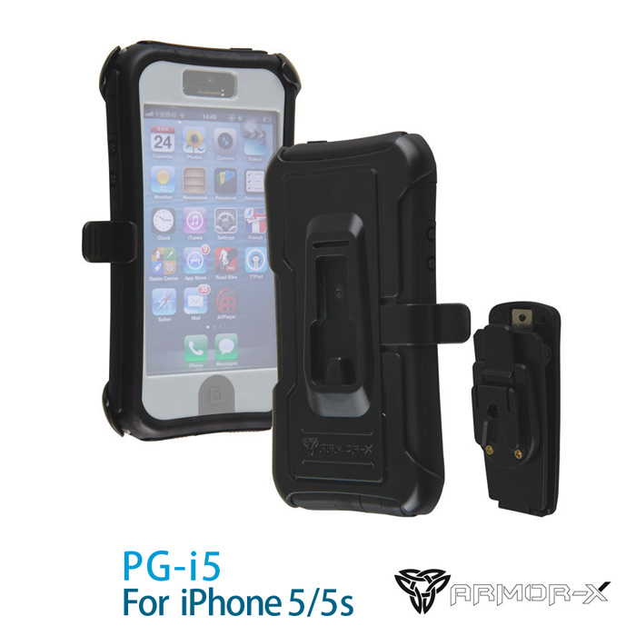 ARMOR-X PG-i5 360度耐衝擊保護殼 for iPhone 5/5S