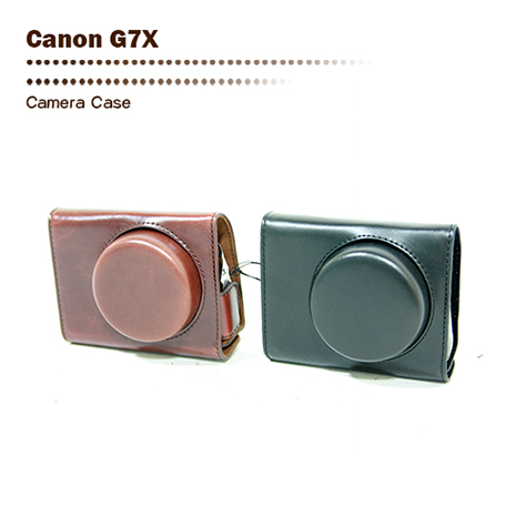 Wiston 手工皮套 For Canon G7X (兩件式)