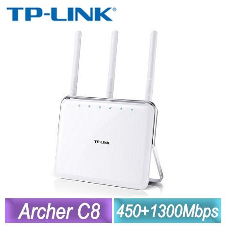 TP-LINK AC1750 次世代高階Gigabit無線路由器Archer C8