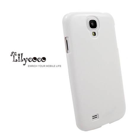 Lilycoco Samsung Galaxy S4 i9500 晶鑽亮面防刮保護殼-白