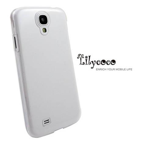 Lilycoco Samsung Galaxy S4 i9500 晶鑽亮面防刮保護殼-透明