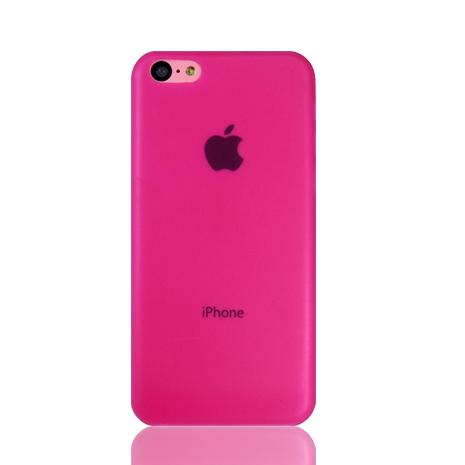 Lilycoco iPhone 5C 超薄果凍保護殼~粉色