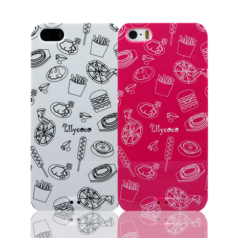Lilycoco iPhone 5/5S 設計家系列保護殼-點心系列點心桃