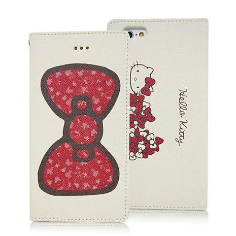 gourmandise GD iPhone6 / iPhone6s Hello Kitty 經典 側掀皮套 保護套 正版授權 蝴蝶結