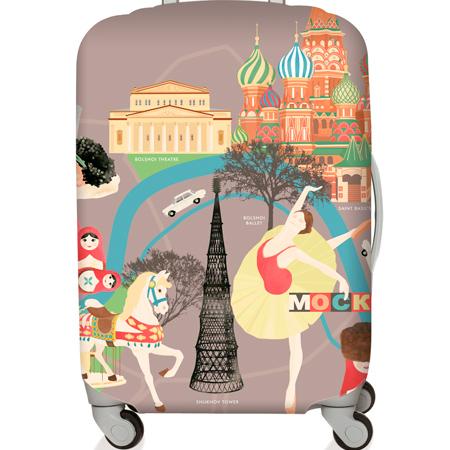 【LOQI 行李箱套】莫斯科LMURMO-戶外.婦幼.食品保健-myfone購物
