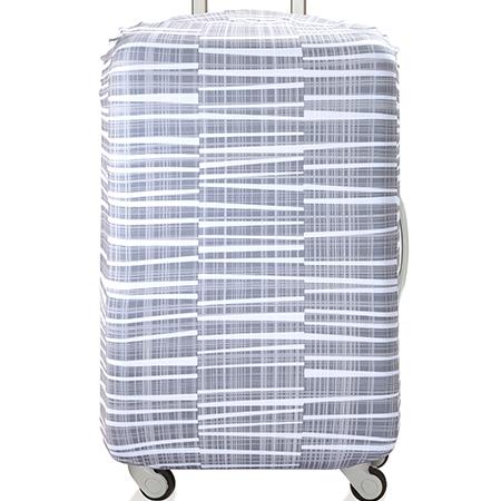 【LOQI 行李箱套】大理石 LSEARO