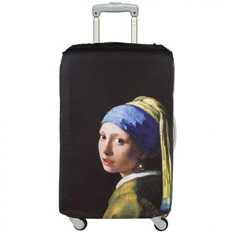 LOQI 行李箱外套│維梅爾/珍珠耳環少女【M 號】
