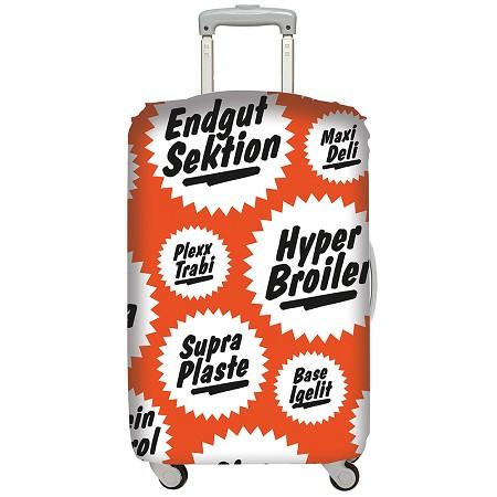 LOQI 行李箱套│復古【M 號】