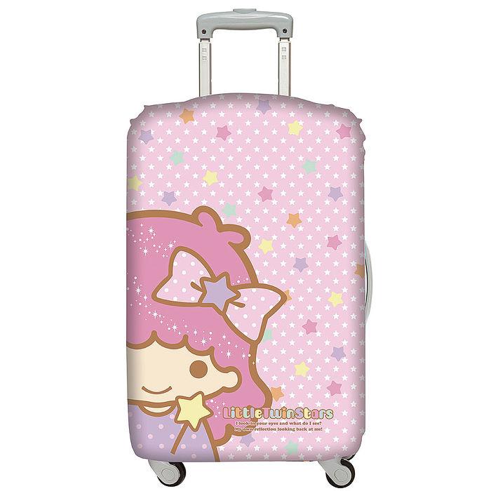 LOQI 行李箱外套│雙星仙子 臉譜L號