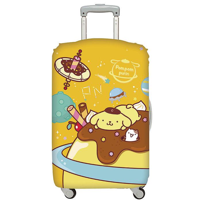LOQI 行李箱外套│布丁狗 太空L號