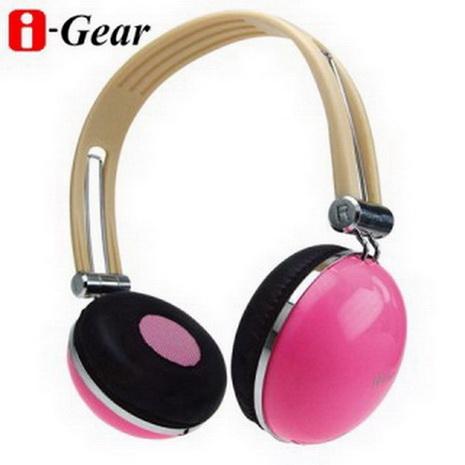 i-Gear 司諾克耳機(粉紅)