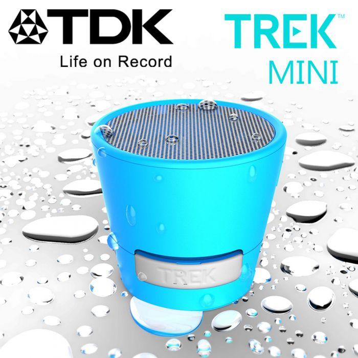 TDK TREK Mini A08 防水防震迷你藍芽喇叭魔粉紅