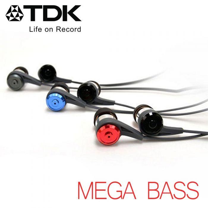 TDK CLEF-P2 -MEGA BASS- 迫力重低音立體聲耳機