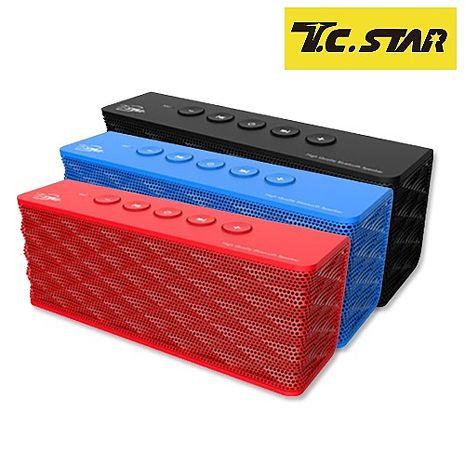 T.C.STAR 無線藍牙喇叭 TCS1000藍色