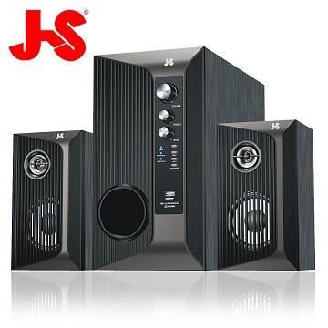 JS淇譽電子 魔羯座 2.1聲道木質三件式音響/藍芽喇叭JY3038