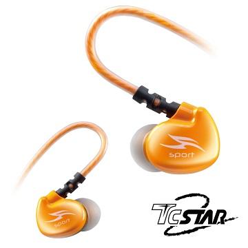 T.C.STAR 運動藍芽耳機 TCE8000橘色