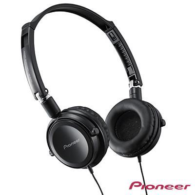 Pioneer 折疊薄型全密閉耳罩式耳機 SE-MJ511-K (黑色)