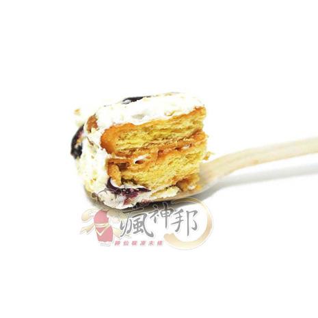 【瘋神邦】法式蔓越莓布蕾Q棉花糖餅(5包/100g包)