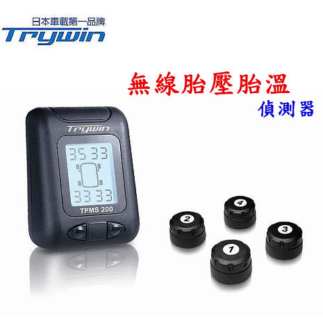 Trywin TPMS 200無線胎壓胎溫偵測器-相機.消費電子.汽機車-myfone購物