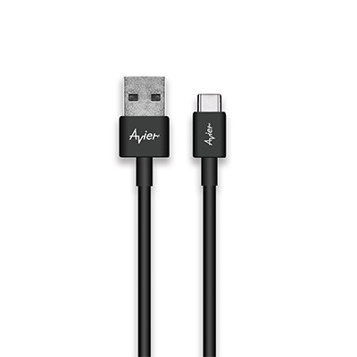 Avier Line Pro - C Type (USB C Type to A) 極速充電傳輸線CU2100-BK
