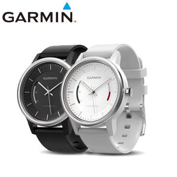 GARMIN vivomove智慧指針式腕錶SPORT運動款-黑色