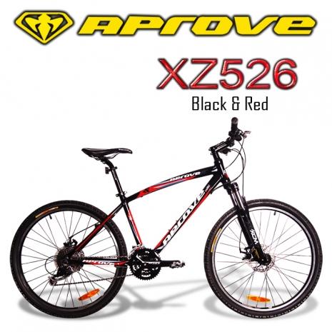 APROVE XZ526 超值27S碟煞登山車(紅/黑) 18吋
