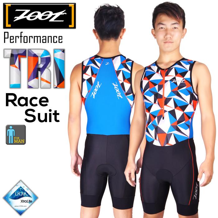 ZOOT 專業級 肌能連身三鐵衣(男)-晶鑽藍