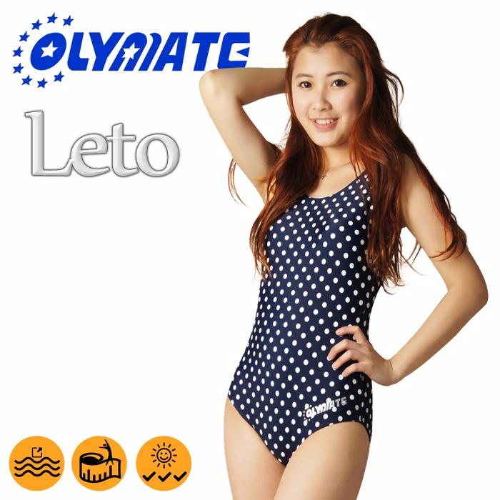OLYMATE Leto 專業連身女性泳裝2XL