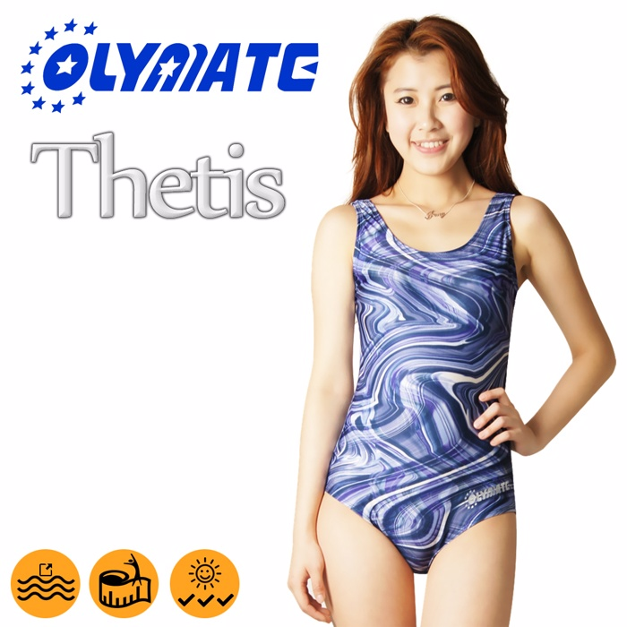 OLYMATE Thetis 專業連身女性泳裝3XL