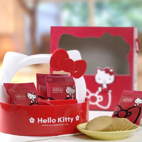 Hello Kitty檸檬薄燒餅乾禮盒(2盒)