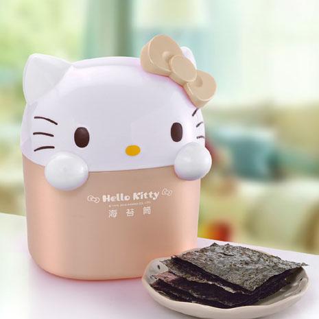 Hello kitty海苔歡樂筒-玫瑰金(2盒)