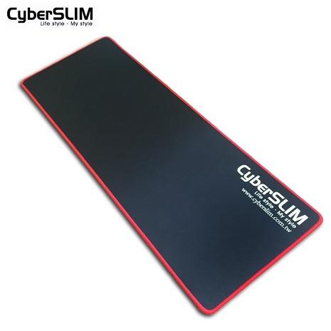 16光棍節:Cyber SLIM 電競滑鼠墊 50cm (黑底紅邊) 限量送羅技滑鼠