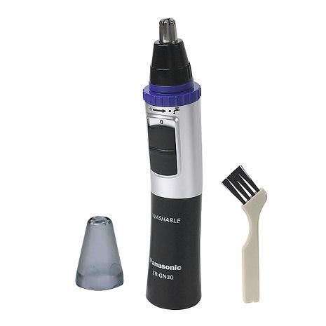 Panasonic國際牌可水洗式電動鼻毛器ER-GN30(黑)