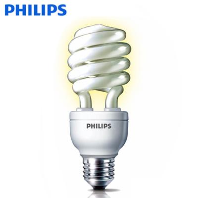 PHILIPS飛利浦Helix 23W螺旋省電燈泡(3入特惠組)(黃光色)