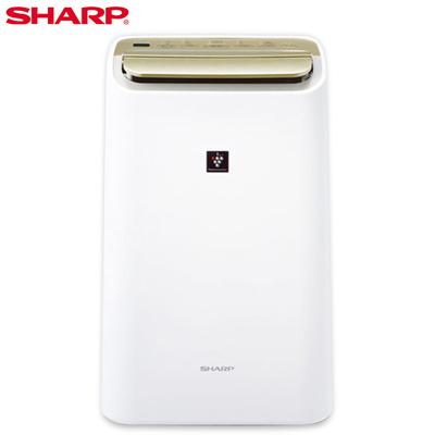 SHARP夏普10公升自動除菌離子HEPA清淨除濕機 DW-E10FT