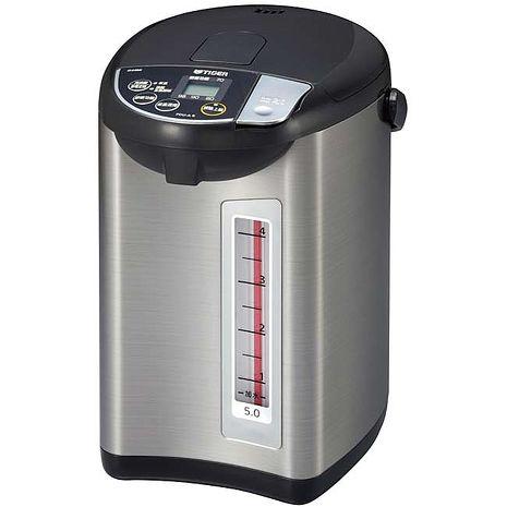 TIGER虎牌5.0L微電腦大按鈕熱水瓶 PDU-A50R