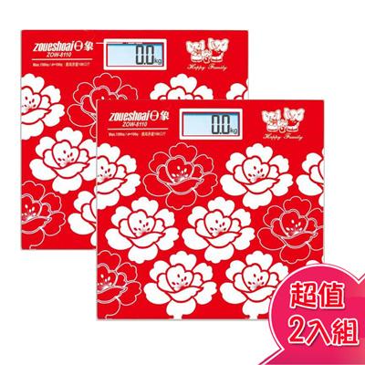 日象大螢幕自動電子體重計(二入超值組) ZOW-8110