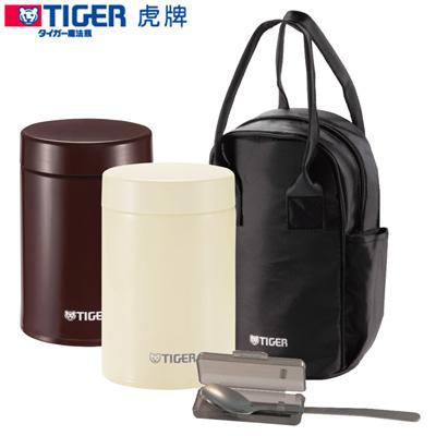 TIGER虎牌750cc不鏽鋼真空食物罐 MCJ-A075可可色(T)