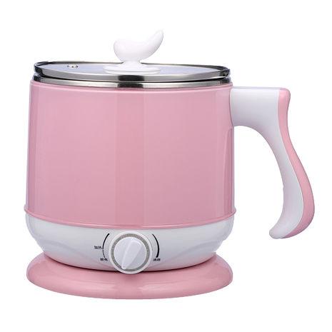 晶工牌2.2公升多功能不鏽鋼電碗 JK-301(粉紅)