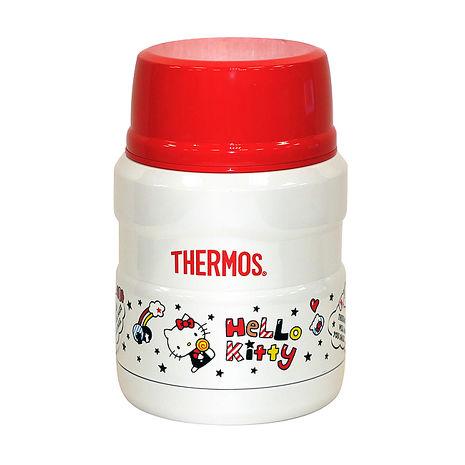 THERMOS膳魔師0.47L不鏽鋼真空保溫食物罐(KITTY限定版) SK3000KT_特賣