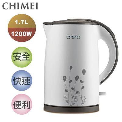 CHIMEI奇美1.7L雙層防燙不鏽鋼快煮壺 KT-17MD00