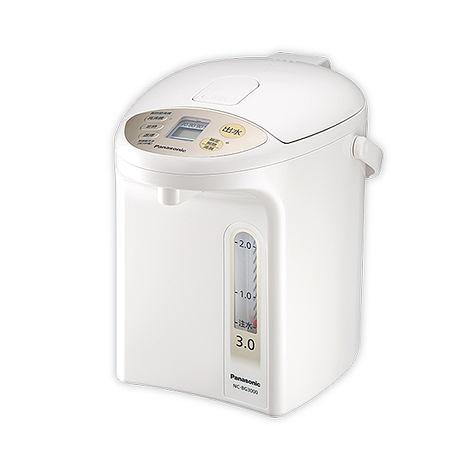 Panasonic國際牌3公升真空斷熱微電腦熱水瓶 NC-BG3000