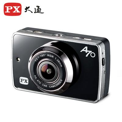 PX大通 超廣角185°星光夜視超人1080P行車記錄器(贈送16G記憶卡) A70