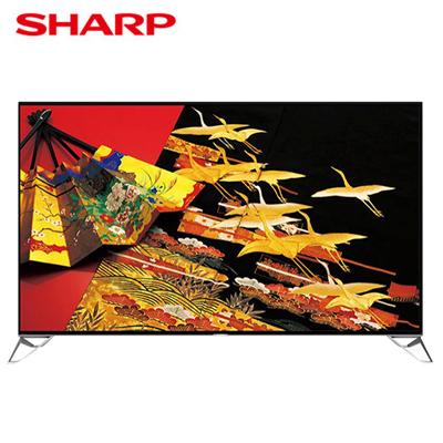 【SHARP夏普】日本原裝80吋4K連網液晶電視 LC-80XU35T