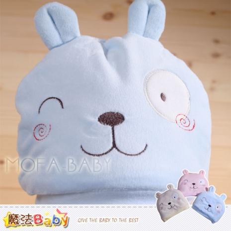 【魔法Baby】厚鋪棉極暖可愛寶寶帽(藍.黃.粉)~嬰幼兒用品~k32383黃