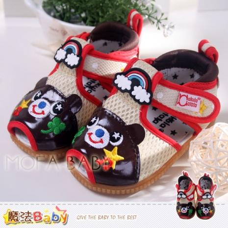 魔法Baby~【KUKI酷奇】新潮小熊寶寶鞋/啾啾鞋/學步鞋~sh2624